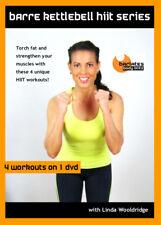 Kettlebell Barre DVD - Barlates Body Blitz BARRE KETTLEBELL HIIT - 4 Workouts