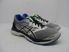 ASICS Men's GEL-Cumulus 18 Athletic Running Shoes White/Black/Blue/Yellow 9.5M
