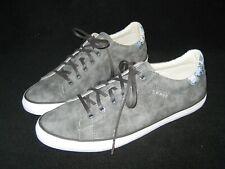 Esprit Damen Sneaker Schuhe grau blau Schlange 39 WIE NEU