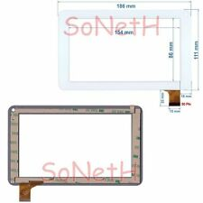 "Vetro Touch screen Digitizer 7,0"" Polaroid Benross 40490 Tablet PC Bianco"