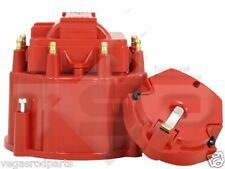 Small Big Block Chevy GM HEI Distributor Red Cap and Rotor kit  327 305 350 454