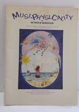 Musi-Physi-Cality Seymour Bernstein Music Book Teaching Aid Illustrated