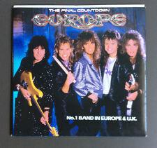 "EUROPE - The Final Countdown 7"" Vinyl Single VG 1987 Original Australian Press"