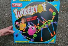 Playskool Tinkertoy Tinkerbugs 1994 set with box + extras ~ incomplete