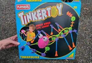 Playskool Tinkertoy Tinkerbugs 1994 set with box  + extras ~ incomplete