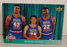 CARTE DE COLLECTION BASKET BALL EAST ALL STARS NBA ALL STAR CHEKLIST
