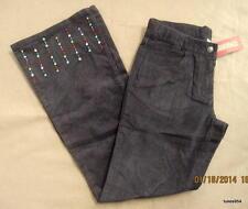 Gymboree Cupcake Cutie Chocolate Brown Confetti Metallic Corduroy Pants 12 Nwt