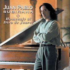 JUAN PABLO SUBIRANA - HOMENAJE AL DIVO DE JUAREZ * (NEW CD)