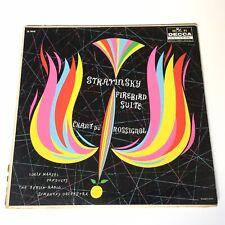 Stravinsky. Firebird Suite. Berlin Radio Symphony Orch. Lorin Maazel 33RPM. 1958