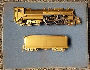 "RARE NJ Custom Brass HO Baltimore & Ohio 4-4-4 Steam Locomotive ""Lady Baltimore"""