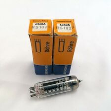 2 Pcs NOS Siemens 6360A / QQE03/12 Audio Radio Vacuum Tubes NIB