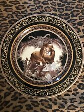 """VERSACE WALL CHARGER PLATE LION MEDUSA LIMITED ROSENTHAL 12"""" New in box"""