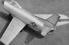 Bauplan North American F 86 K Sabre Modellbau Modellbauplan
