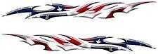 "U.S.A America Flag Car Truck Rv Camper Boat Graphics Decals Vinyl Stickers 36"""
