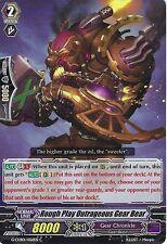 CARDFIGHT VANGUARD CARD: ROUGH PLAY OUTRAGEOUS GEAR BEAR - G-CHB01/056EN C