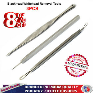 Acne Removal Tools Blackhead Remover Kit Facial Extractor Tool Comedones Popping
