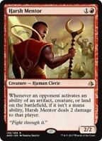 MTG x4 Harsh Mentor Amonkhet RARE Magic the Gathering NM/M