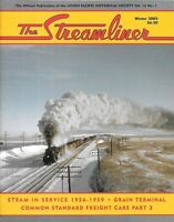 The Streamliner V16 N1 UP Steam Power Locomotive Grain Tminal Freight Cars