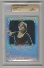 MARY LOU RETTON 2017 Leaf Metal PRISMATIC PROOF BGS Slabbed 1 of 1 Real 1/1
