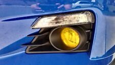 Yellow Fog Light Overlays Tint Vinyl for 2012 2016 Suburu BRZ FA20 JDM Drift