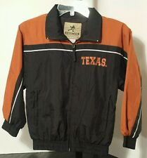 Texas Longhorns NCAA Reebok Football Jacket Size Youth/Boys Small (8)