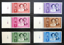 LUXEMBOURG 1953 Royal Wedding Complete (6) SG563/68 Cat £40 FP6728