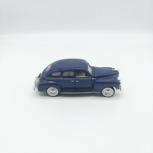 1941 Plymouth - Blue - 1:32 DieCast - Signature Models - Used