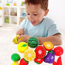1 ensemble Coupe Fruits Et Légumes Jeux De Rôle Enfants Jouet Éducatif