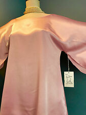 VINTAGE CLAIRE SANDRA by LUCIE ANN Babydoll Nightgown NWT New Petite Silky Pink