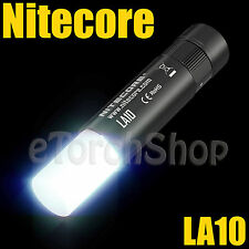 Nitecore LA10 Cree S3 LED 135LM AA Mini Magnetic Camp Lantern Flashlight Torch