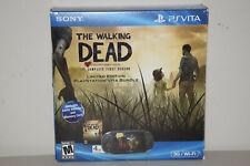 Sony PlayStation PS Vita 3G/Wi-Fi The Walking Dead Bundle Black Console + 8GB Mt