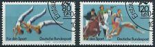 BRD Bund 1983 Sportereignisse Mi. 1172 - 1173 gestempelt orig. Gummierung