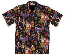 Day of the Dead - Dia de los Muertos - Hawaiian Camp Shirt, David Carey