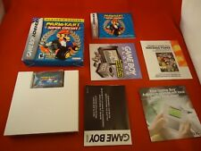 Mario Kart Super Circuit  (Nintendo Game Boy Advance 2001) COMPLETE Box manual Q