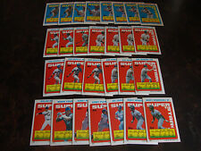 1990 Topps Baseball---Stickers---Lot Of 28---Dupes---Multi-Lots---See List