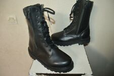 CHAUSSURE CUIR  BOOTS BOTTES RANGERS DEFENSE SECURITE TAILLE 38 NEUF