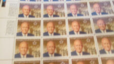 US Discount Postage 305x 25c stamps in 7x sheets with USPS page MNH Face $76.25