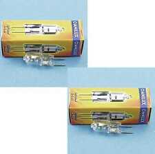 2 PEZZI OMNILUX JC 12v 50 Watt g-6, 35 2900k Studio Lampada Penna Socket-Lampada gx-6, 35