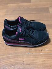 Puma Cabana Racer SD Sneakers Black- Womens- Size 8 B