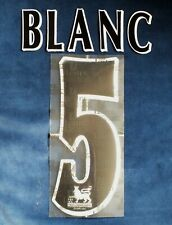 Lextra 1997-2007 EPL Manchester United Player Issue Shirt Black Blanc 5 Set