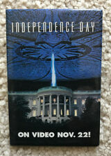 Independence Day Video Release Promotional Button - White House Explodes