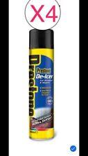 4 x Prestone De-Icer 600ml Windscreen & Wipers De-freeze Melt De-Ice Frost -36˚C
