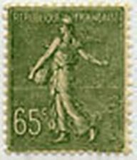 """FRANCE STAMP TIMBRE YVERT N° 234 """" SEMEUSE LIGNEE 65c OLIVE """" NEUF xx LUXE"""