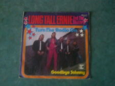 7 inch Single TURN THE RADIO ON von LONG TALL ERNIE AND THE SHAKERS (1973)   °32