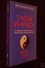 The Tao Of Physics, by Fritjof Capra, 2000 PB, 25th Anniversary Edition