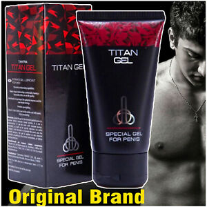 ⭐⭐⭐⭐⭐ New TITAN GEL Mens Penis Enlarger / Enlargement Cream Bigger Dick