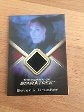 The Women of Star Trek -Costume card Beverly Crusher WWC18
