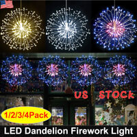 XMAS✨Firework LED Fairy Lights String Copper Wire Remote Control Christmas Decor