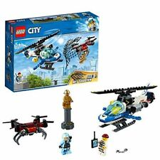 LEGO 60207 City Police Sky Police Drone Chase Helicopter Toy with Net Shooter
