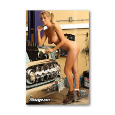 Z • 14 Tool Box Fridge Magnet Beautiful Snap-On Sexy Girl marie Mini Bikini